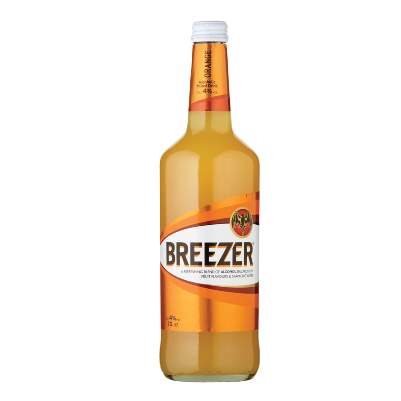 BacardiBreezer orange 70cl