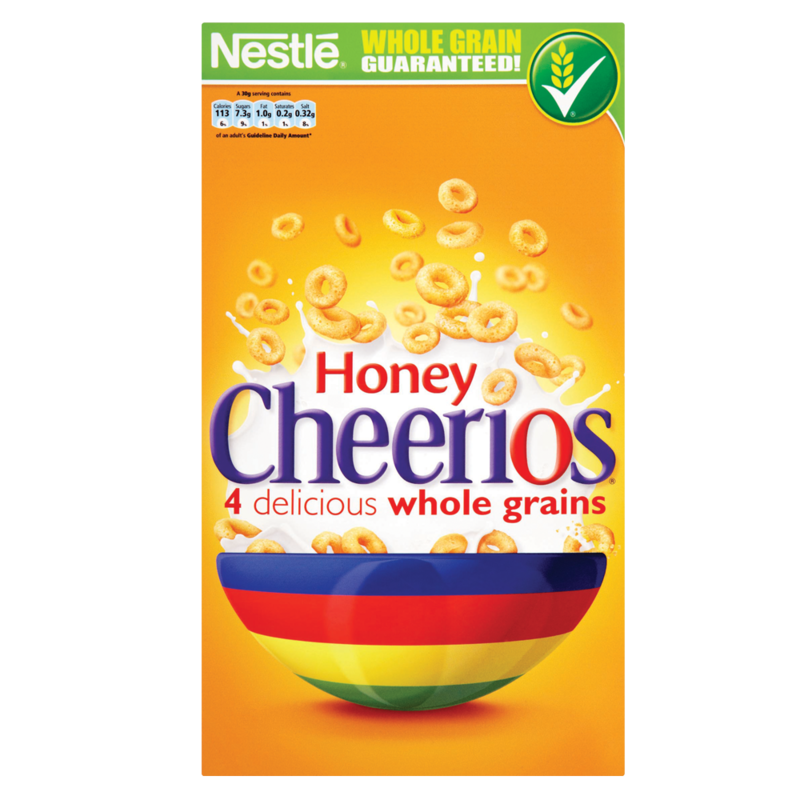 Nestle Honey Cheerios 565g