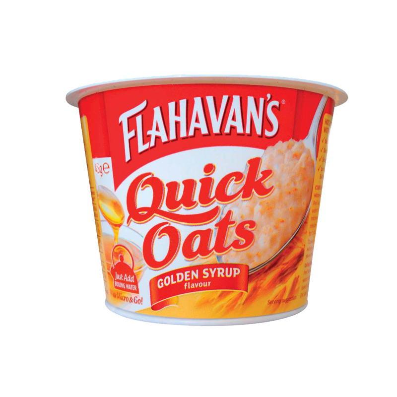 Flahavans quickOats goldenSyrup