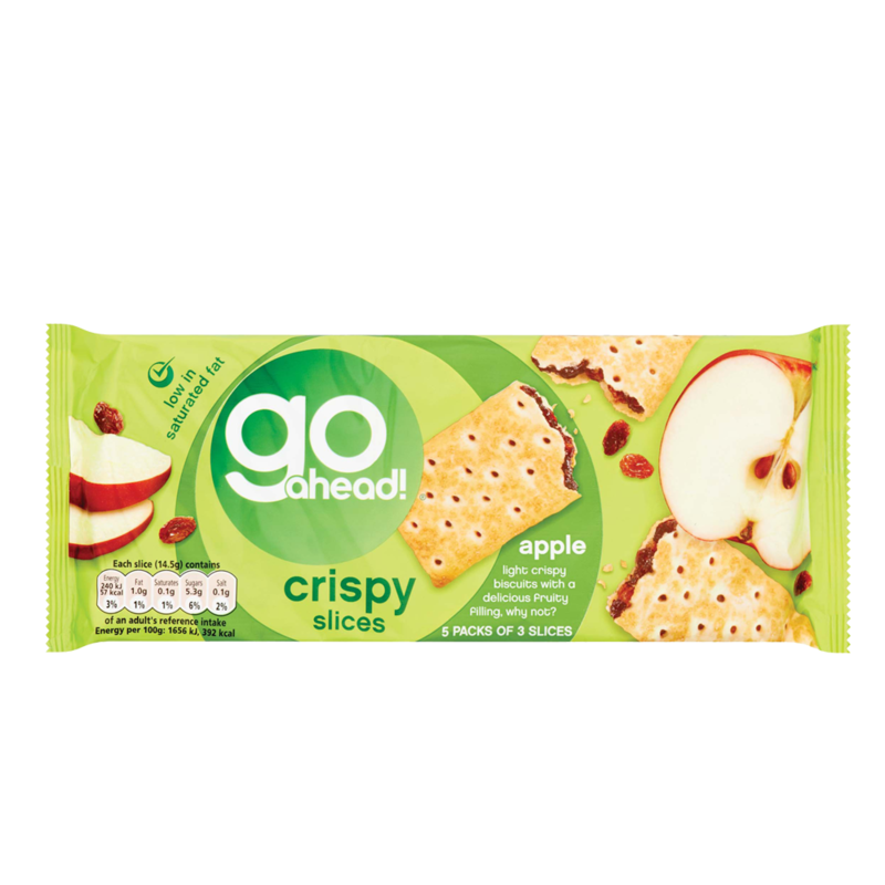 GoAhead crispySlices apple 5pk