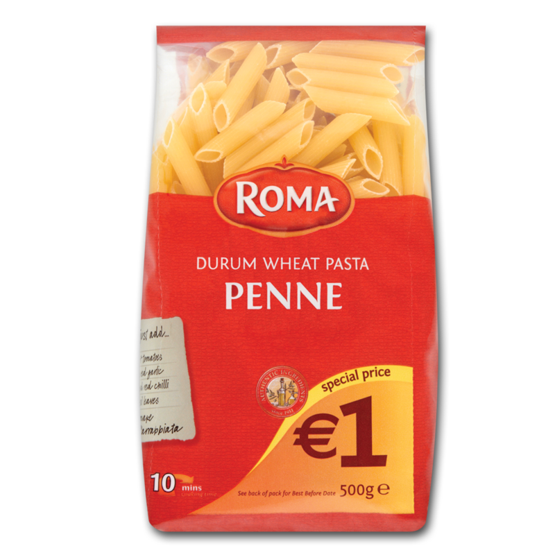 Roma penne onlyE1