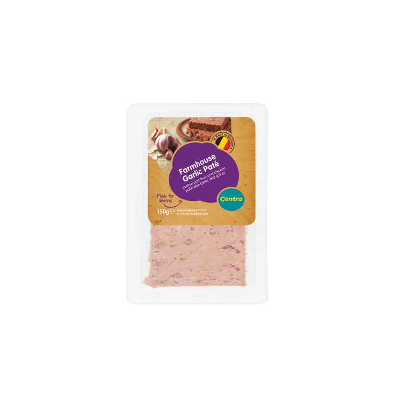 CT farmhouseGarlicPate 150g