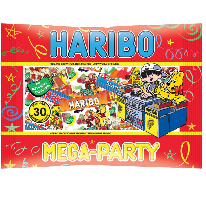 HARIBO Mega Party 480g