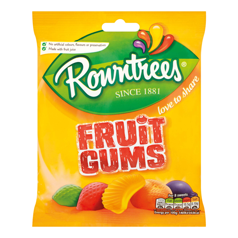Rowntrees fruitGums 170g