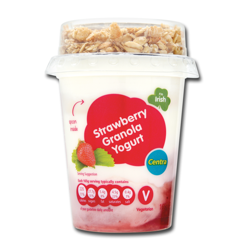 CT granola strawberry