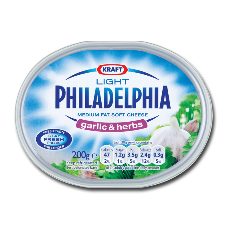 Philadelphia lightGarlicHerb 200g
