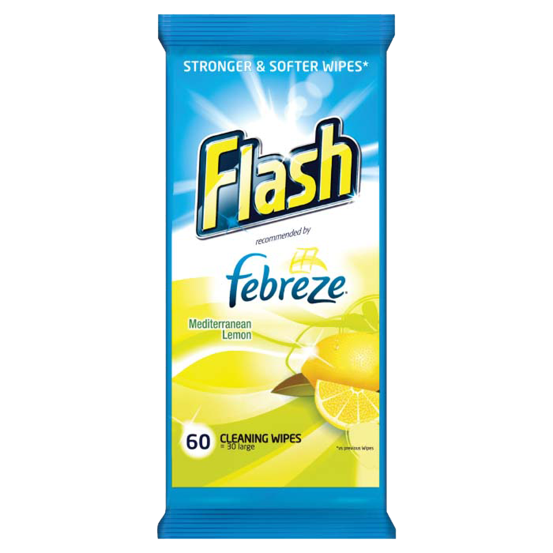 Flash Mediterranean Lemon 60pce