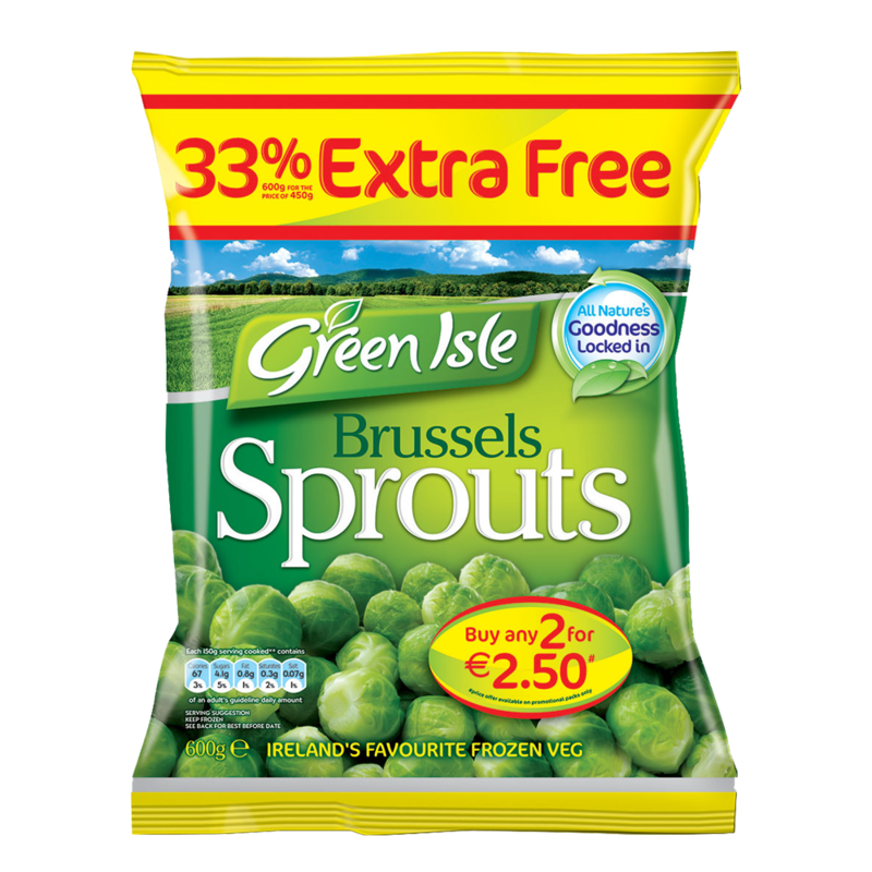 GreenIsle brusselSprouts 450g 33extrafree