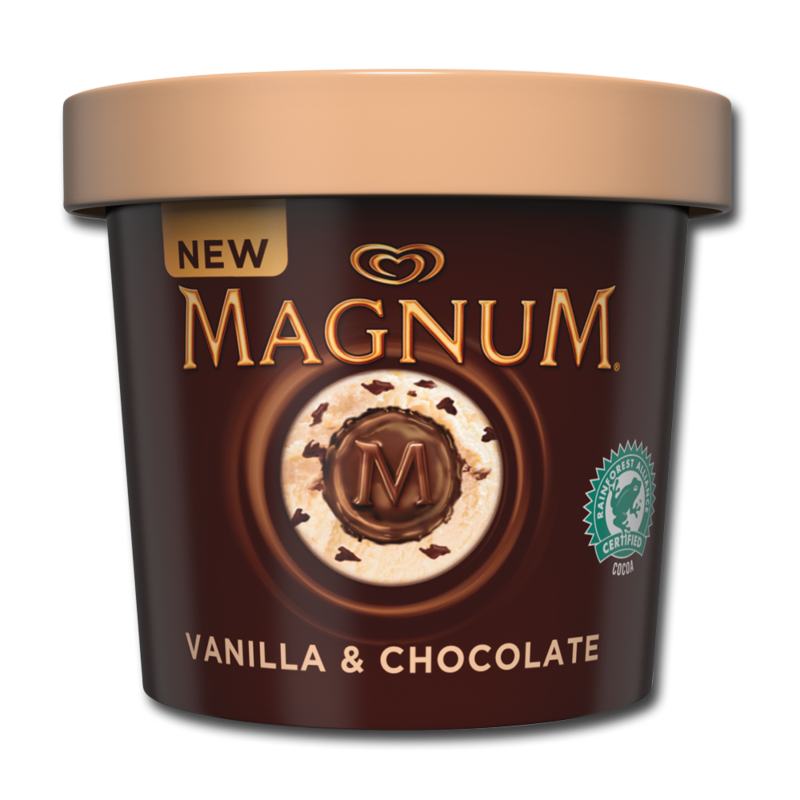 MagnumTubs chocolateVanilla 450ml