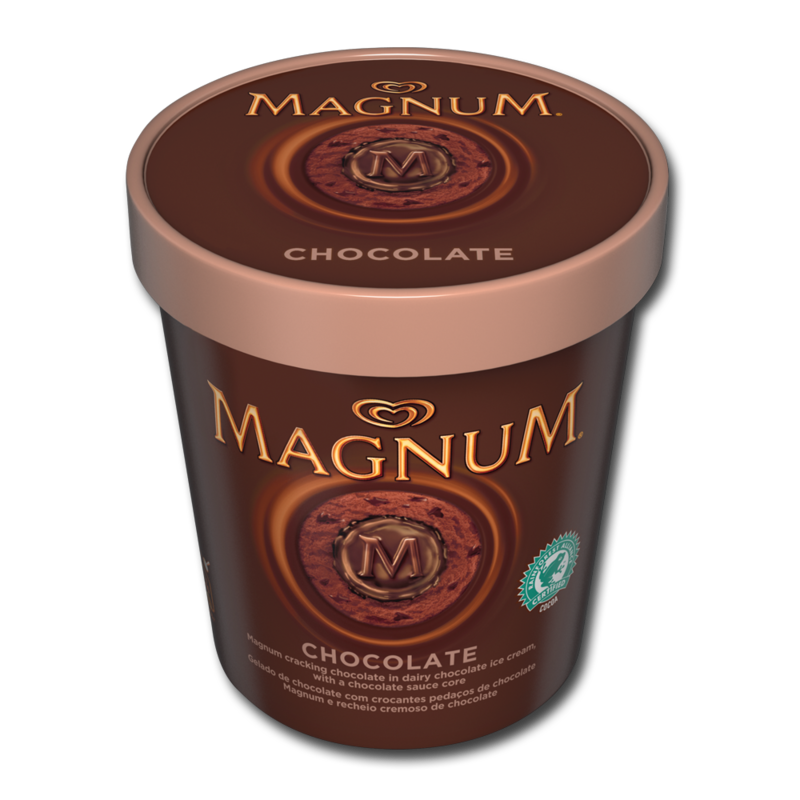 MagnumTubs chocolate 450ml
