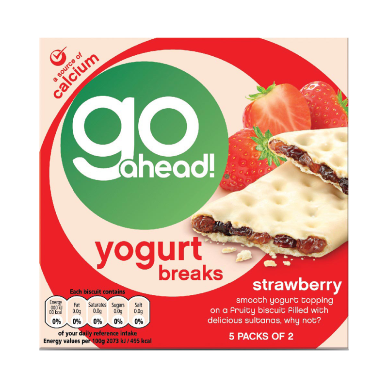 Go Ahead Strawberry YogurtBreaks