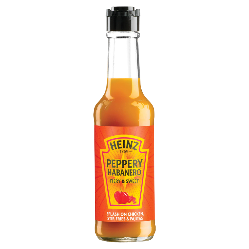Heinz Peppery Habanero Fiery   Sweet 150ml