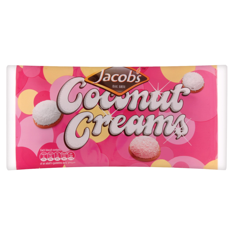 Jacob s Coconut Creams 200g