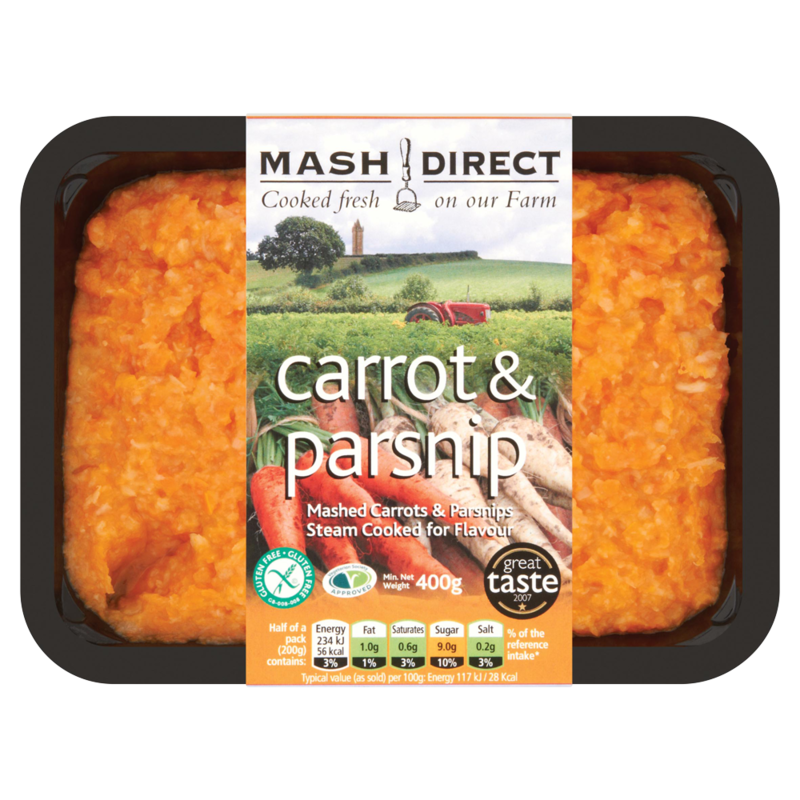 Mash Direct Carrot   Parsnip 400g  49