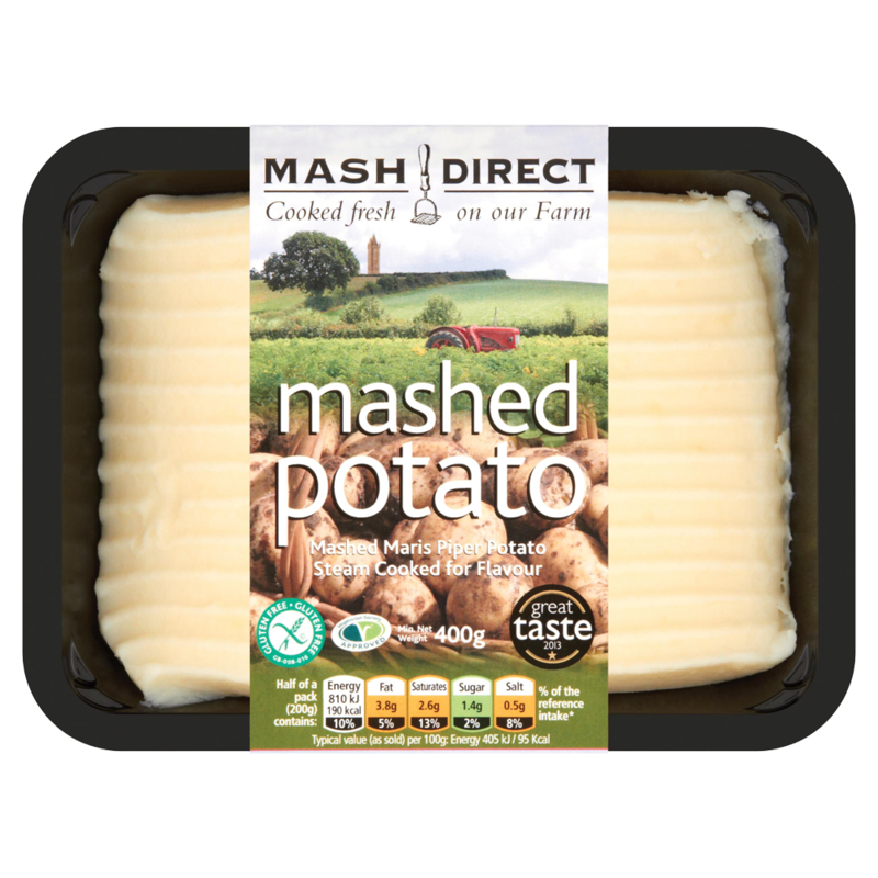 Mash Direct Mashed Potato 400g  50