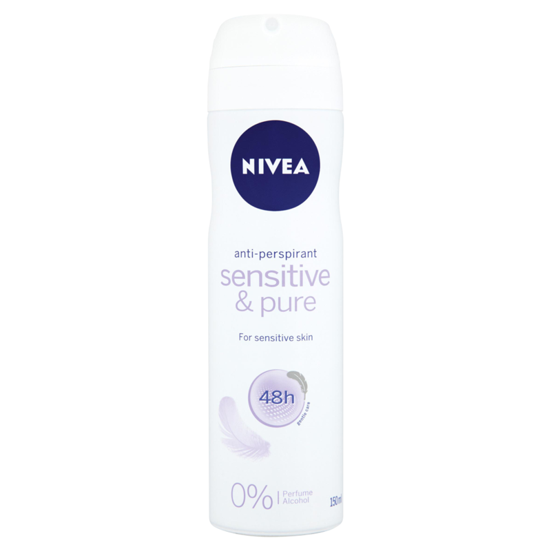 NIVEA  Sensitive   Pure 48h Anti Perspirant 150ml