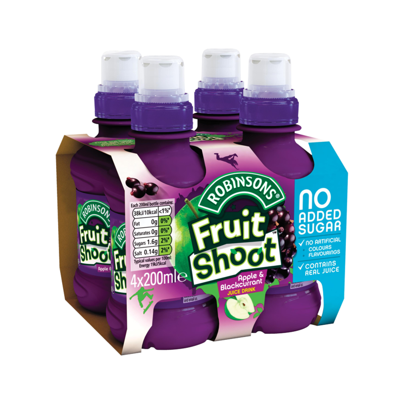 Robinsons Fruit Shoot Apple   Blackcurrant Juice D