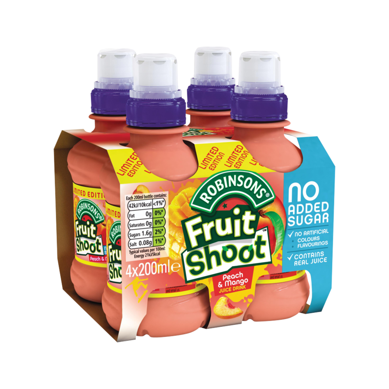 Robinsons Limited Edition Fruit Shoot Peach   Mang  17