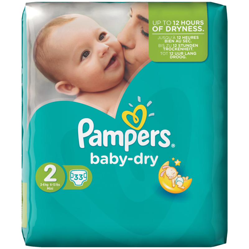 Pampers baby dry 33pack
