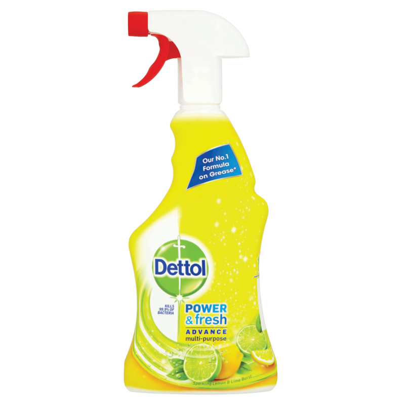 Dettol Cleaner Spray Power   Fresh Citrus 500ml