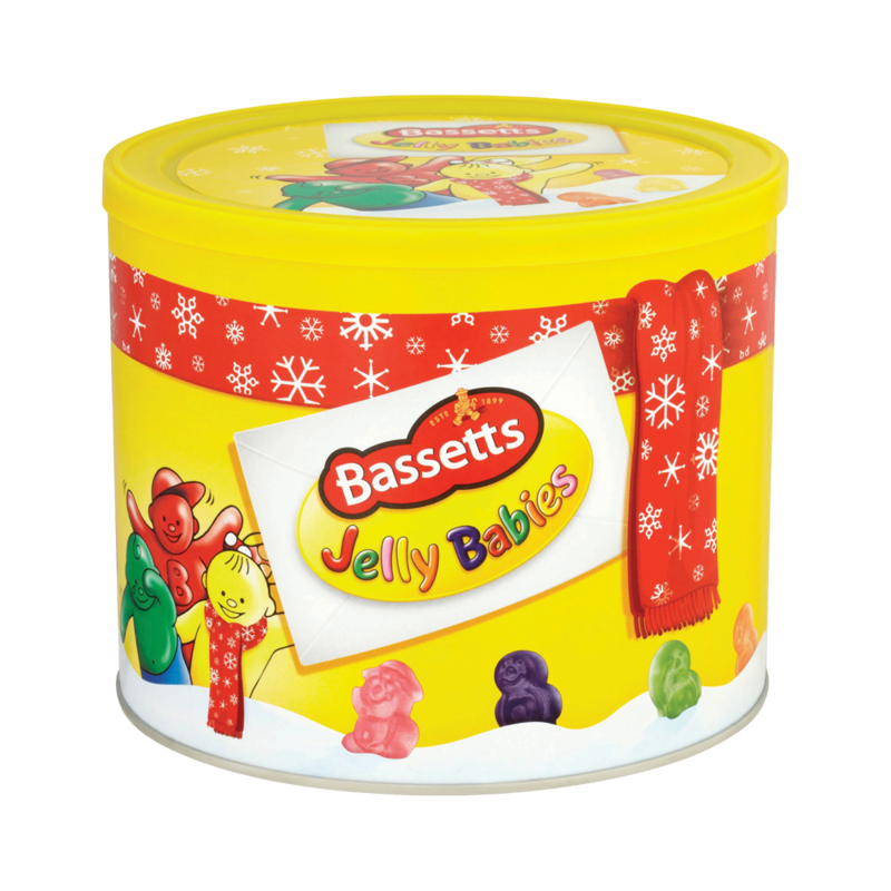 Bassetts Jelly Babies Sweets Tub 800g