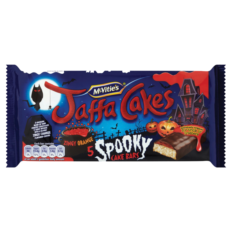McVitie s Jaffa Cakes 5 Spooky Cake Bars