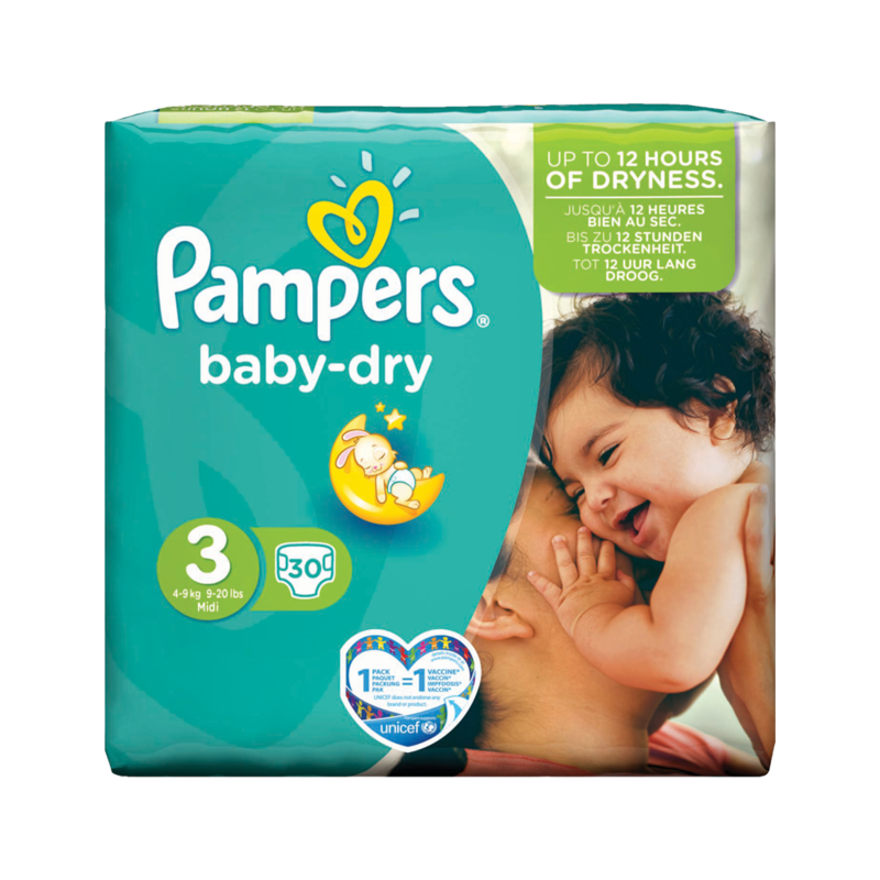 Pampers Baby dry 1