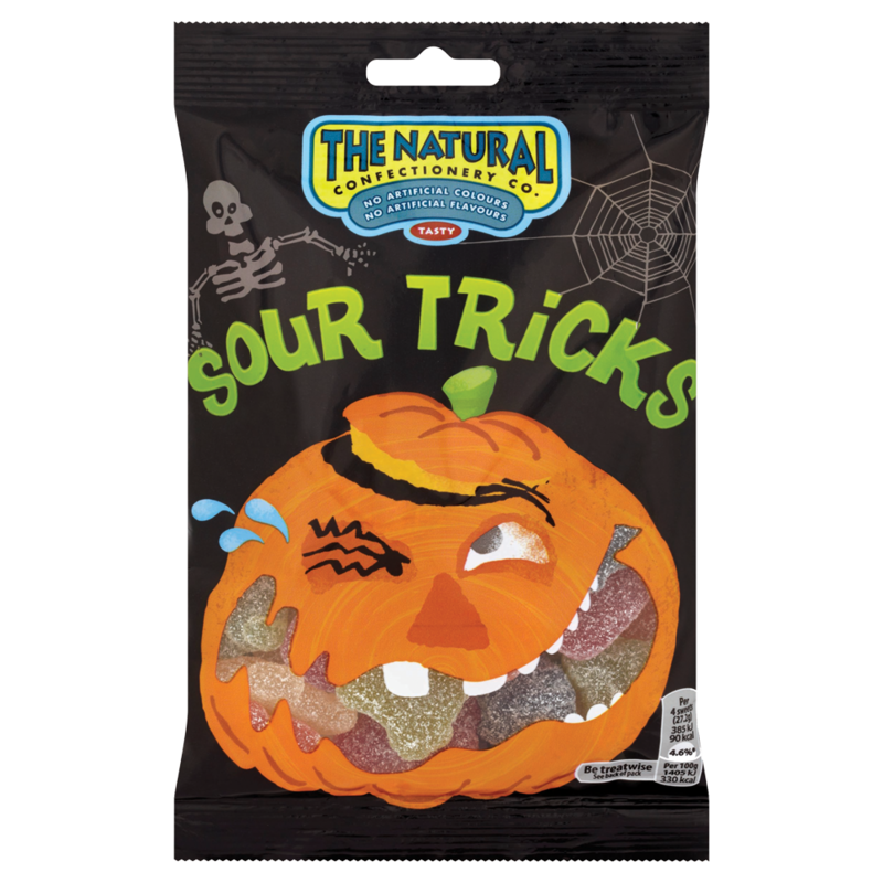 The natural confectionary sour treats