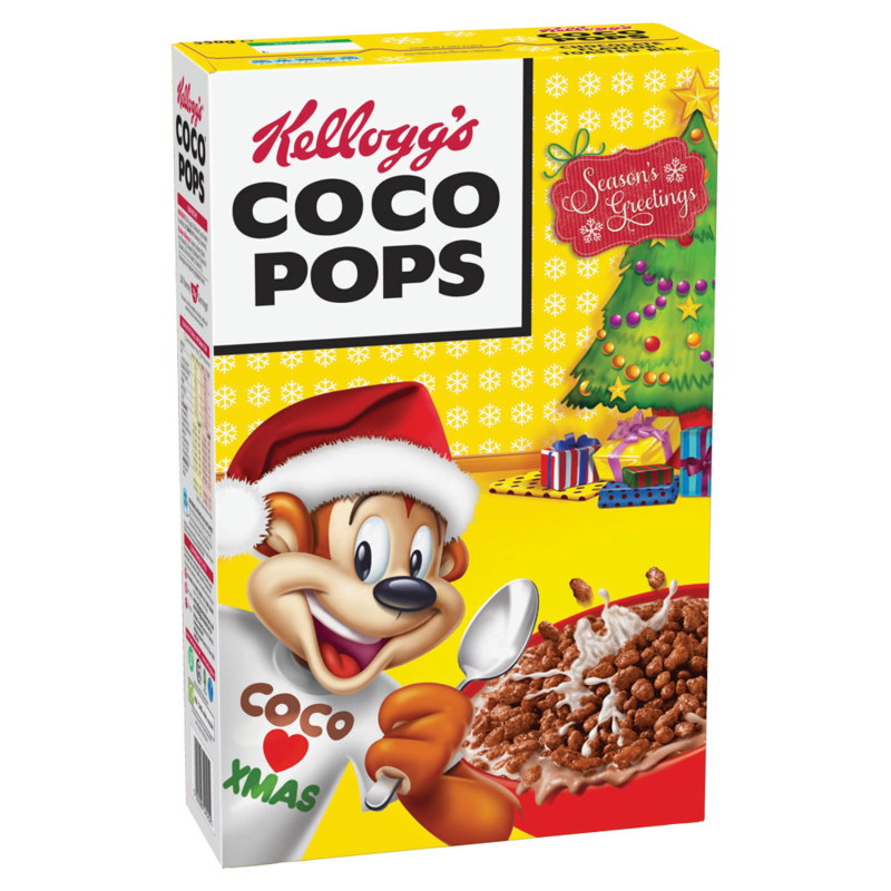 Coco Pops 550g UK Xmas Pack