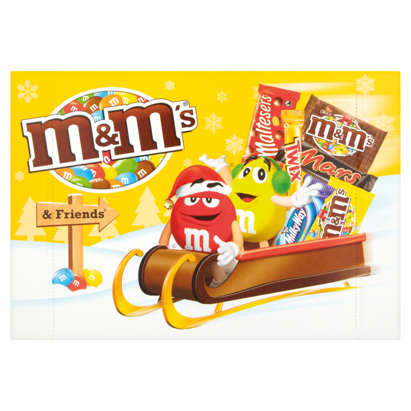 M M s   Friends Christmas Selection Box 184g