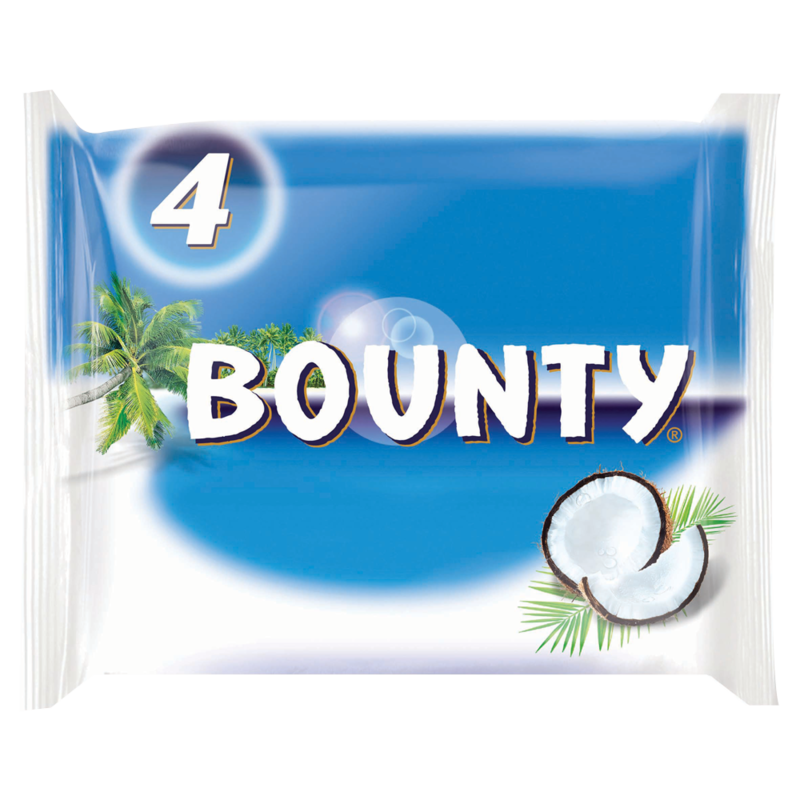 BOUNTY Full Size Bars 4 x 57g