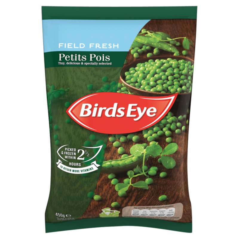 Birds Eye Field Fresh Petits Pois 450g