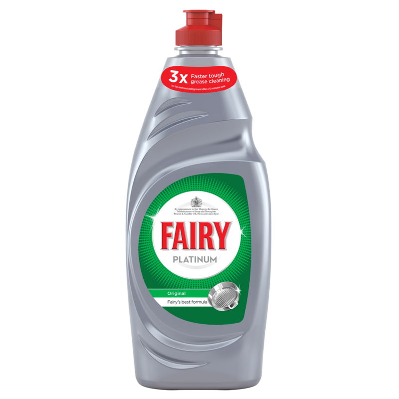 Fairy Platinum Washing Up Liquid Original 615ML