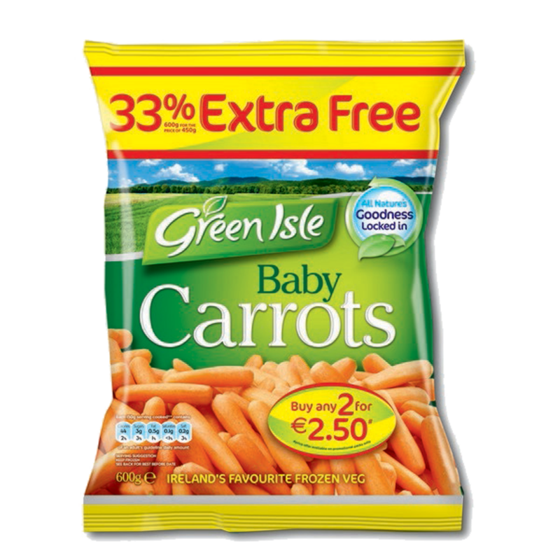 Green Isle Baby Carrots 600g 33  Extra visual high res