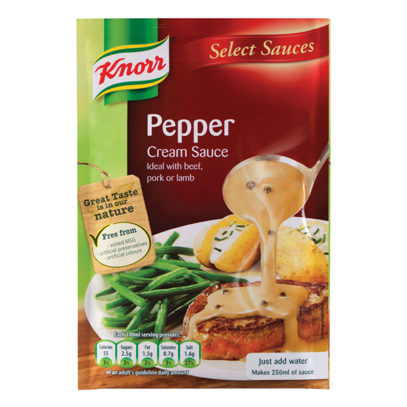 Knorr Pepper Cream Sauce 502