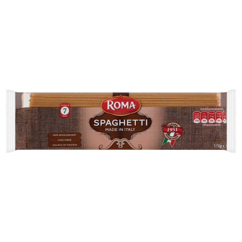 Roma Spaghetti Wholewheat 500g