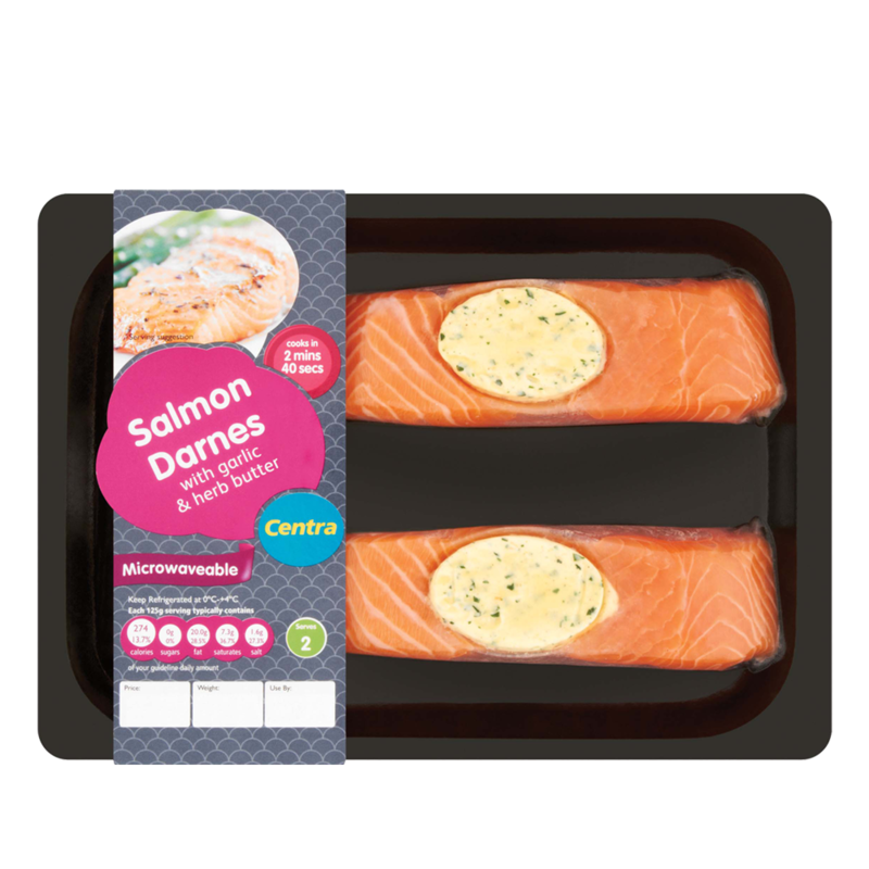 CT salmonDarned garlicButter 240g