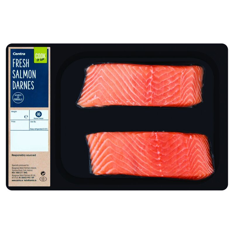 Centra Cook It Up Fresh Salmon Darnes