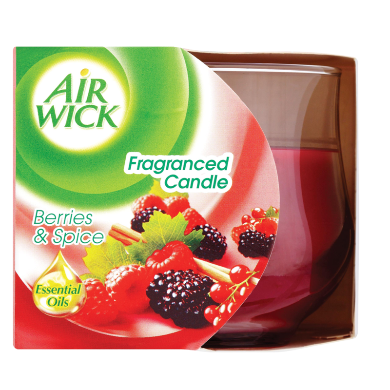 Air Wick Fragranced Candle Berries Spice