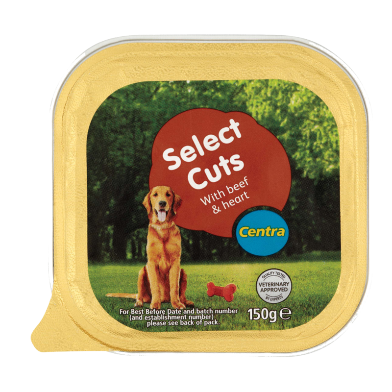 Centra Select Cuts with Beef Heart 150g