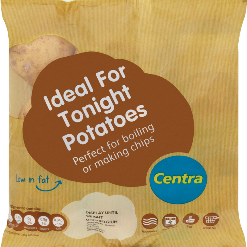 CT ideal for tonight Potatoes