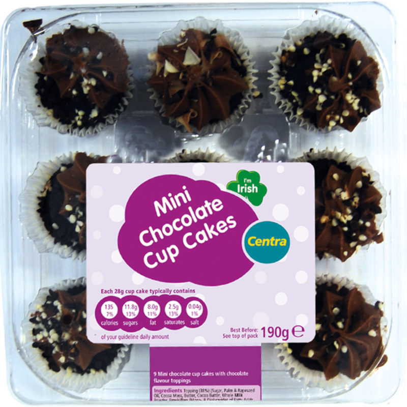 CT mini chocolate cupcakes