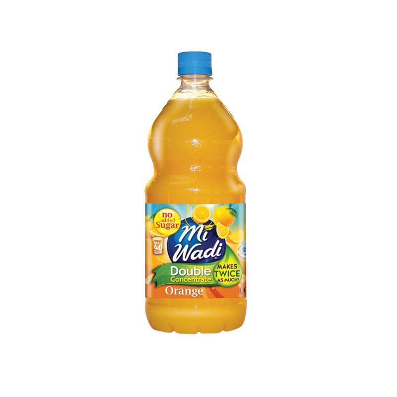 Mi Wadi Double Concentrate Orange 1ltr