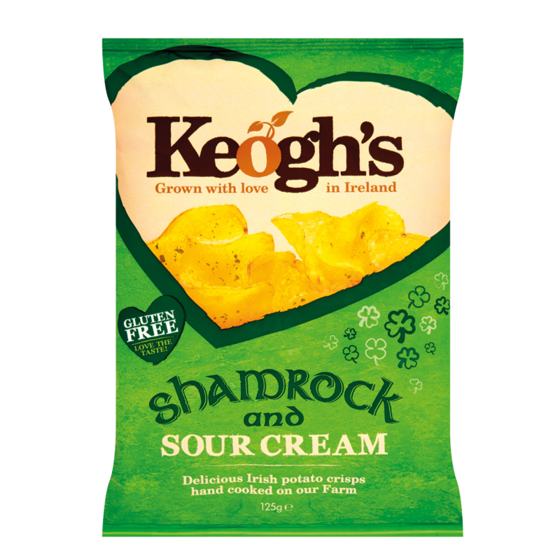Keoghs shamrockSourCream 125g