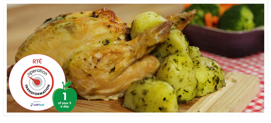 Roast basil chicken880x400