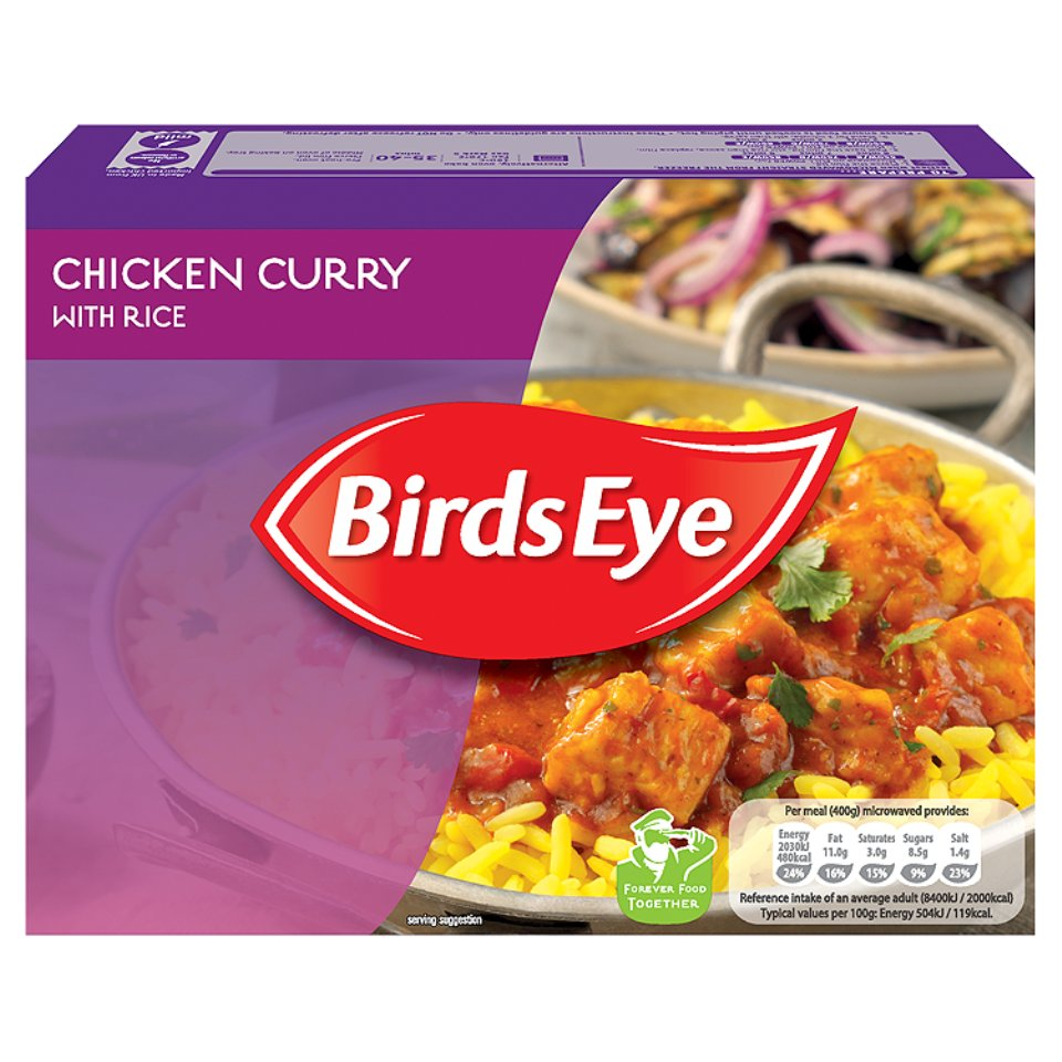 Birds eye chicken curry 400g centra forumfinder Image collections