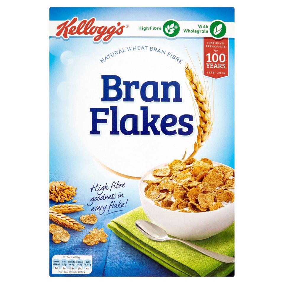 Kelloggs All Bran Flakes Centra Corn Deal