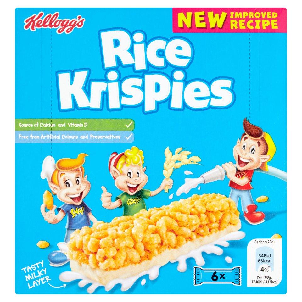 Kellogg's Rice Krispies Cereal Bar
