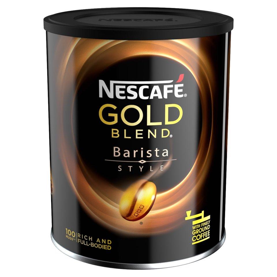nescafe gold blend barista style tin 180g centra
