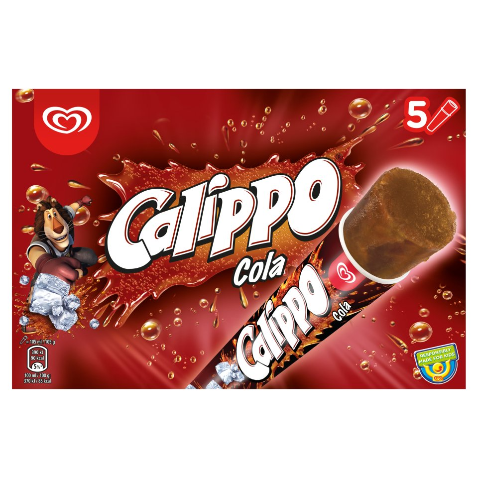 HB Calippo Cola 5 Pack 525ml - Centra